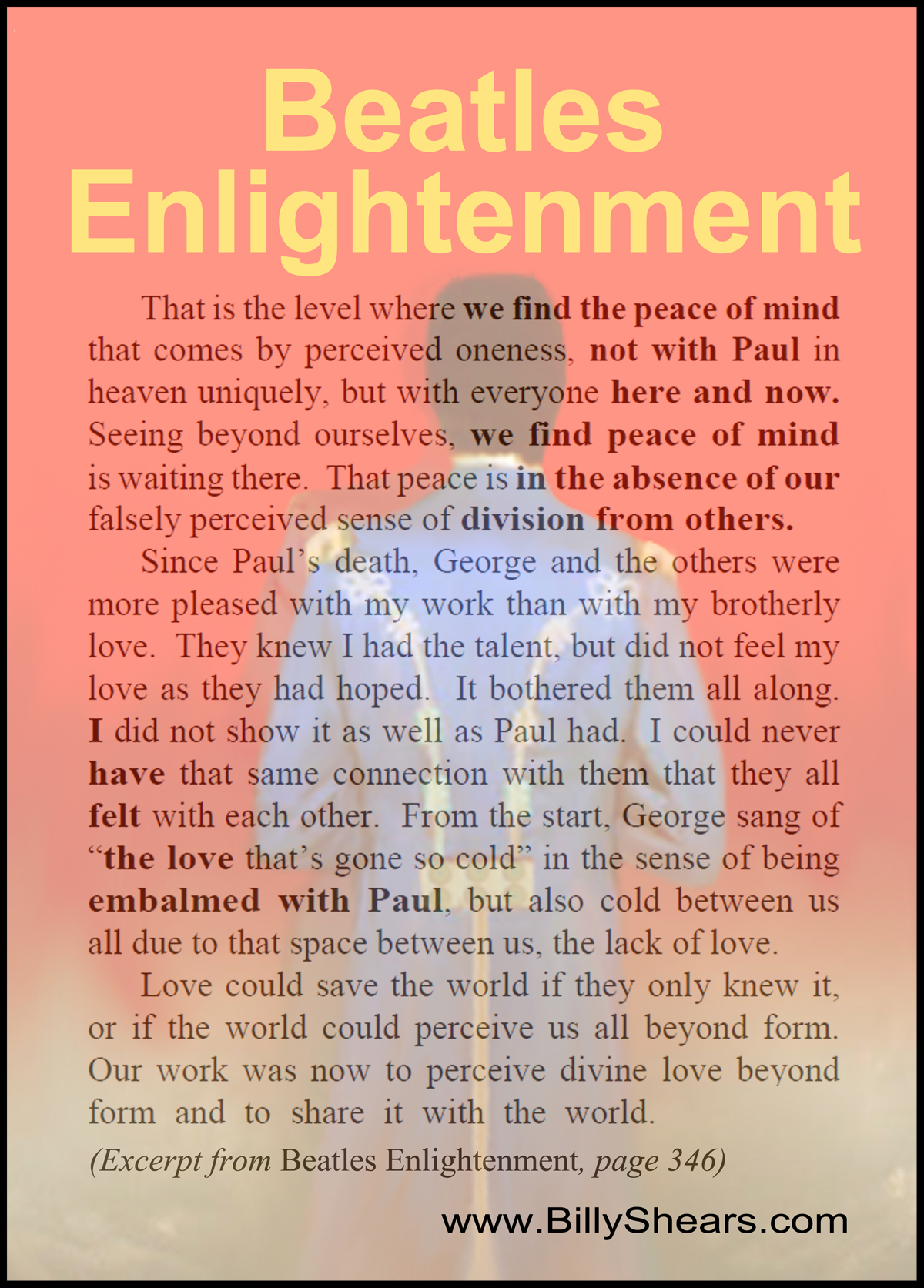 Quote from Beatles Enlightenment